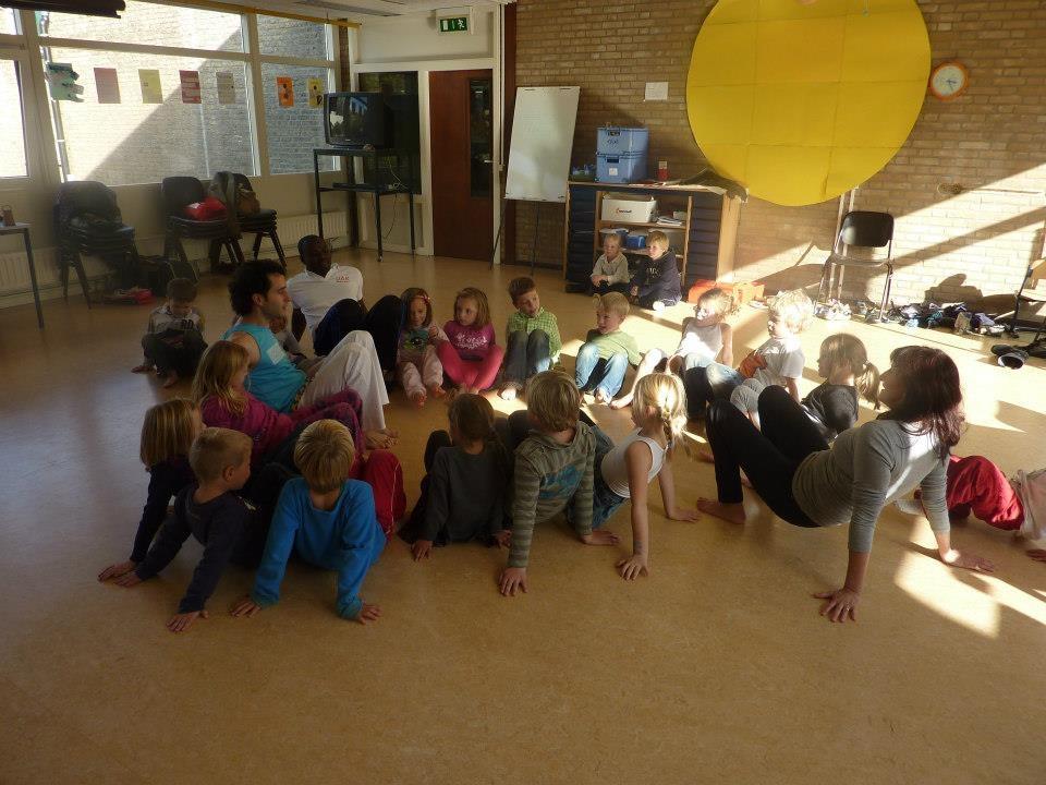 Capoeira kids les